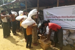 11 Ramadan Food Packs Distribution, , Rohingya Refugee Camps, Cox's Bazar, Bangladesh