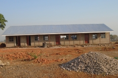 First phase of school building in Uganda, 2014
