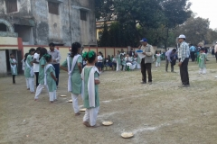 Sport Day at Bagh Girls Primary School, Kolkata India