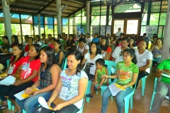 Annual parents meeting in SHIFT Foundation, Northern Samar, Philippines