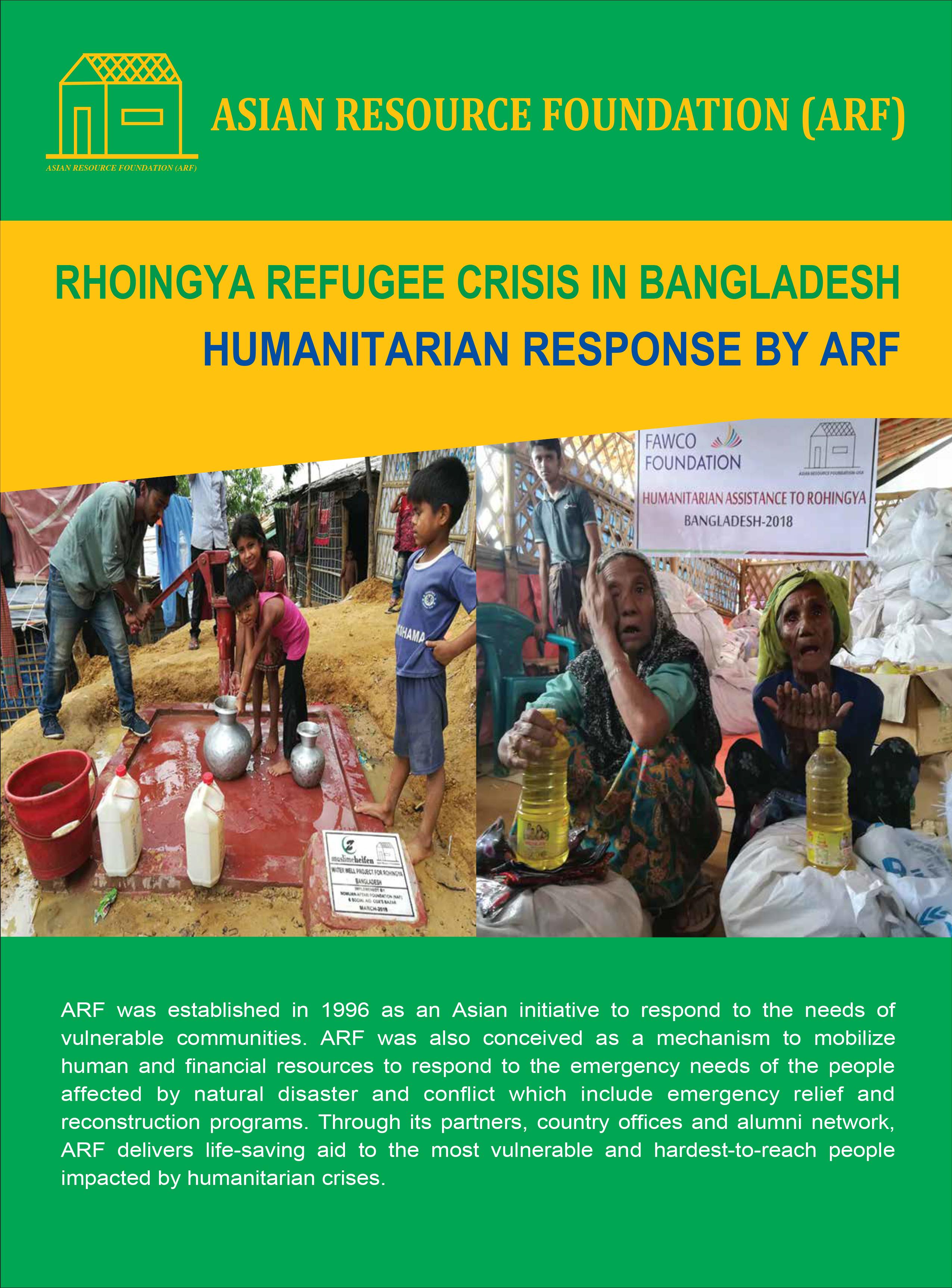 ARF:  Rohingya Refugee Crisis in Bangladesh