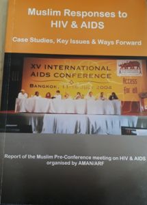 Book Cover: Muslim Responses to HIV & AIDS