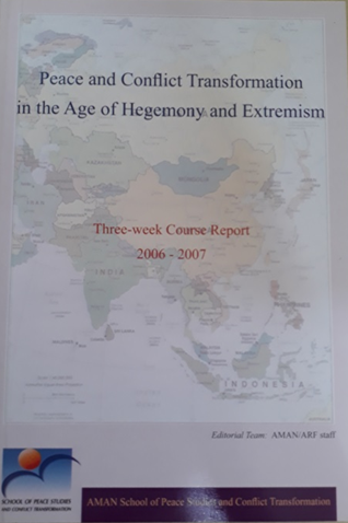 Book Cover: Peace and Conflict Transformation in the Age of Hegemony and Extremism