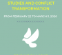 20th School of Peace Studies and Conflict Transformation